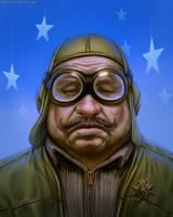Fat Pilot by randis