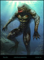 The Creature from Bl. Lagoon by randis