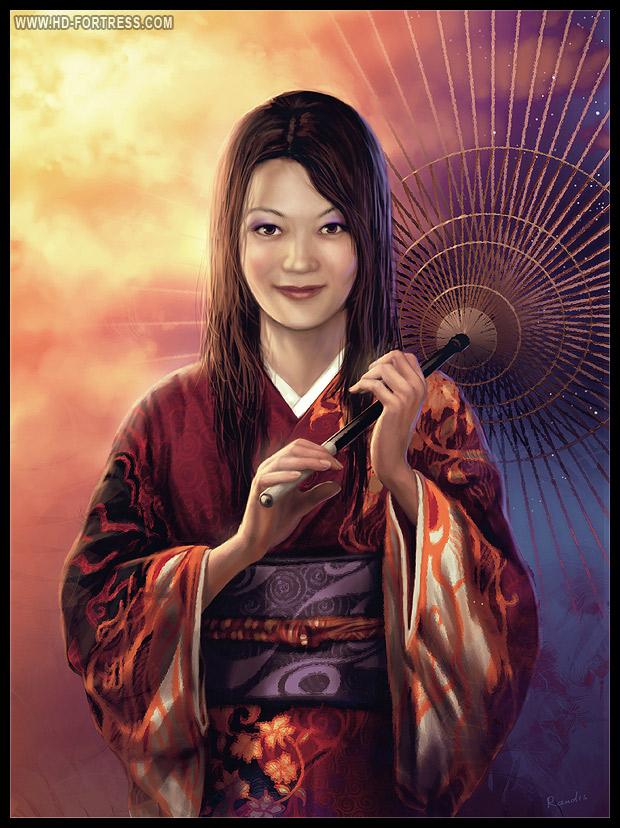 Kimono Lady by randis