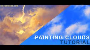 Painting clouds - tutorial vid