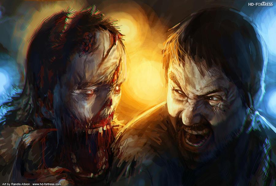 AAAAAAAAAAAAAAAAAAAAAAAAAAAAAA by randis 45 Awesome Apocalyptic Zombie Artworks