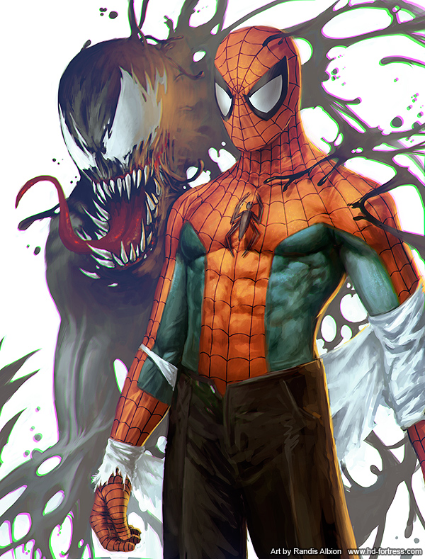 Spiderman by randis