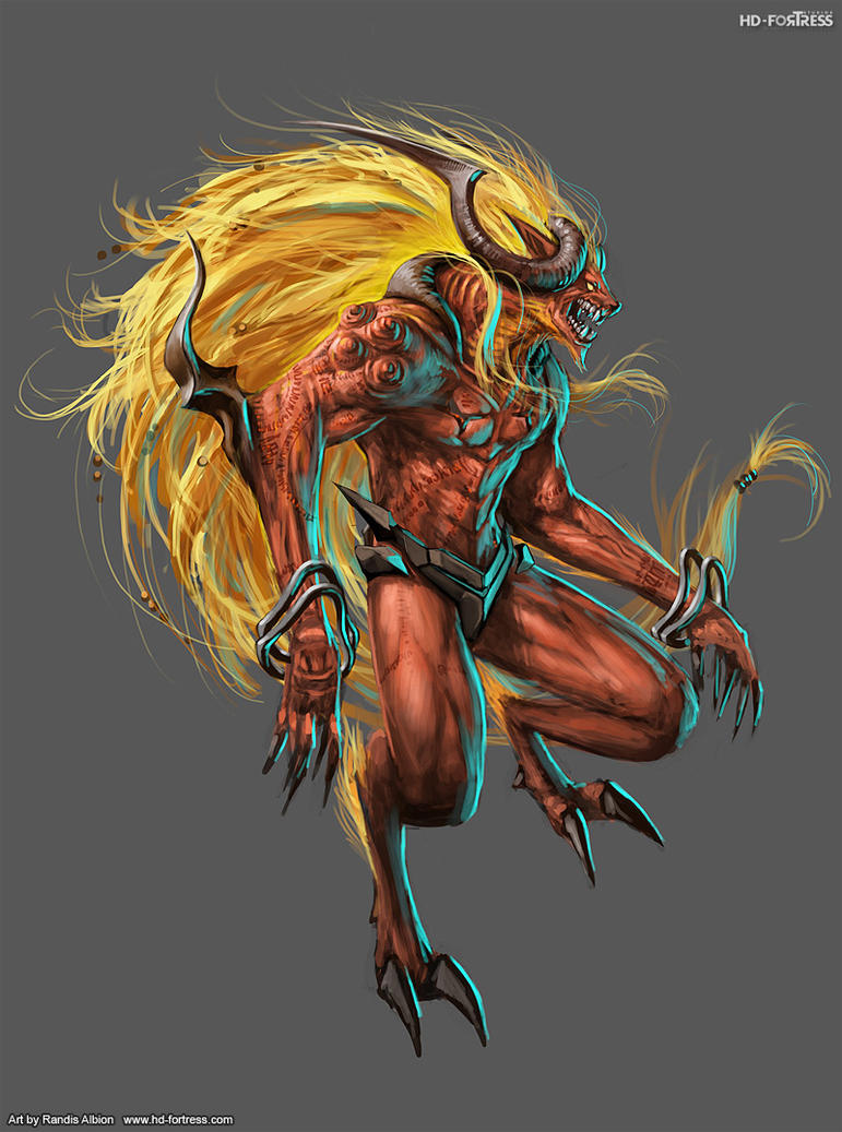Final Fantasy Ifrit Wallpaper IFRIT by randis on Dev...