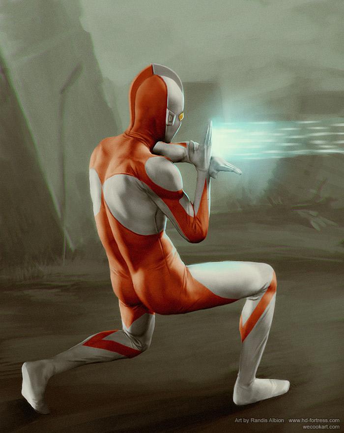 Ultraman by randis