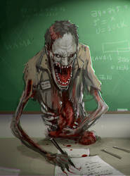Undead Teacher by randis