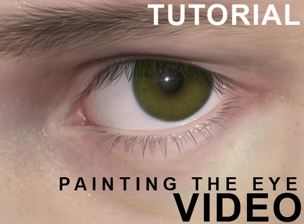 How to paint the eye by randis
