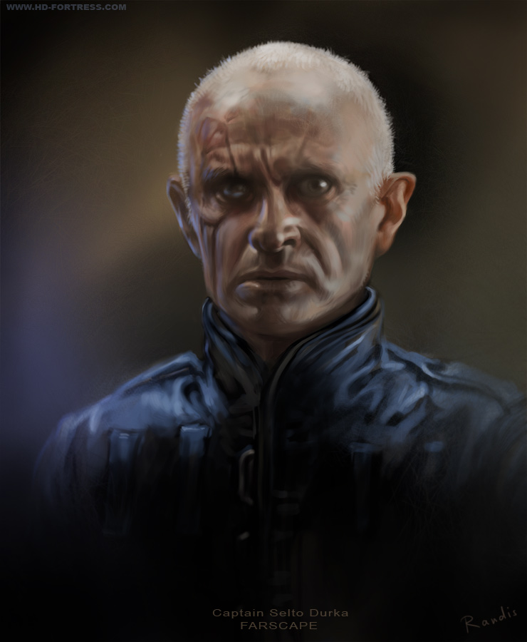 Captain Selto Durka from Farscape by randis