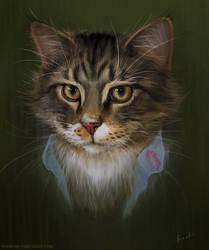 Portrait of my Cat, Magneto