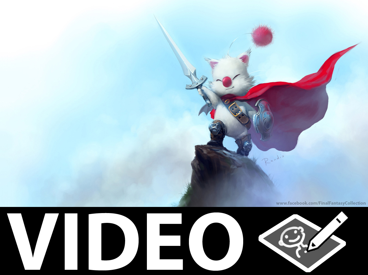 Mog. KUPO! painting video by randis