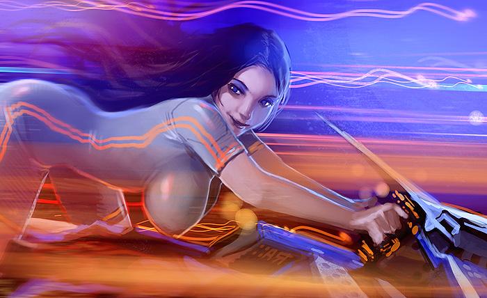fast bike by randis