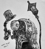 gentlemen robot by randis