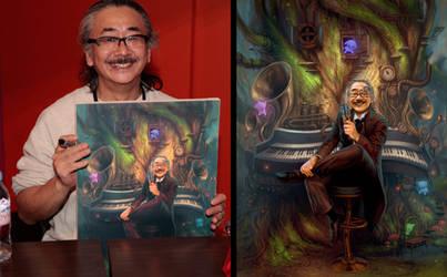 Portrait of Nobuo Uematsu by randis