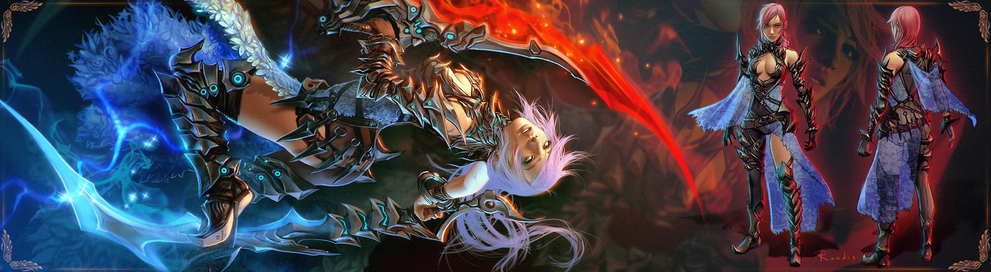 Lightning - Mythril Scorpion Armor by randis