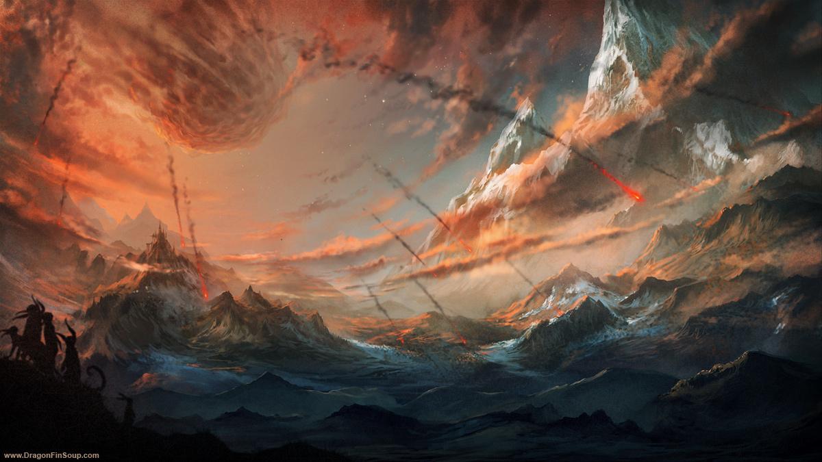 Blood Meteor by randis