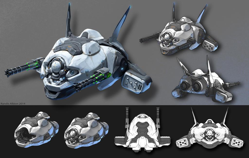Aquanox Conceptart by randis