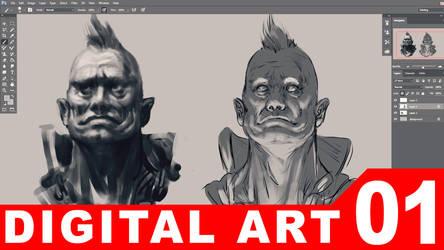 01 - Digital  Painting [TUTORIAL VIDEO]