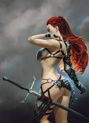 Red Sonja by randis