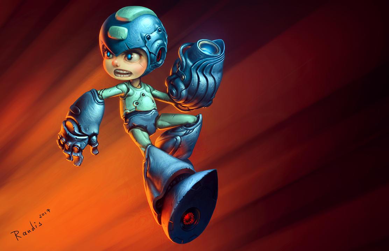 Megaman by randis