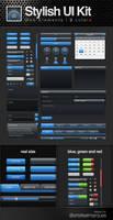 Stylish UI Kit by artefaelmarques