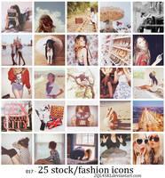 icons 17 - stock fashion by 2QL4SKL