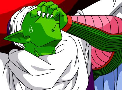 Piccolo Facepalm by XsupersaiyensoilderX on DeviantArt