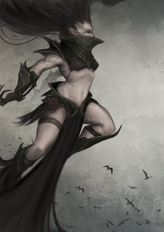 Mother Crow by Pakoune
