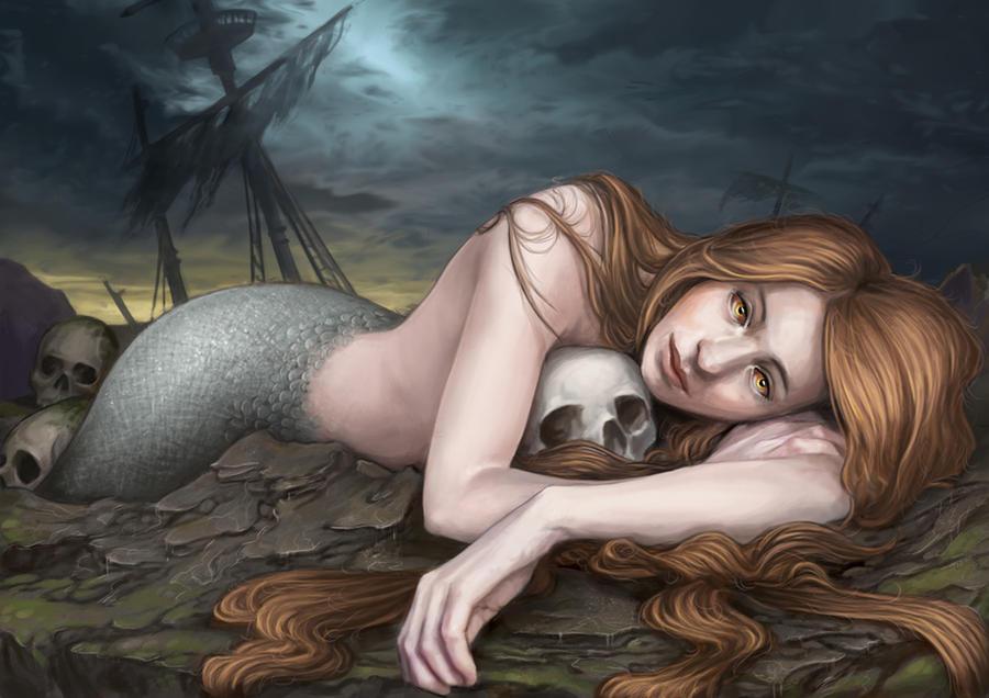 Mermaid by Pakoune
