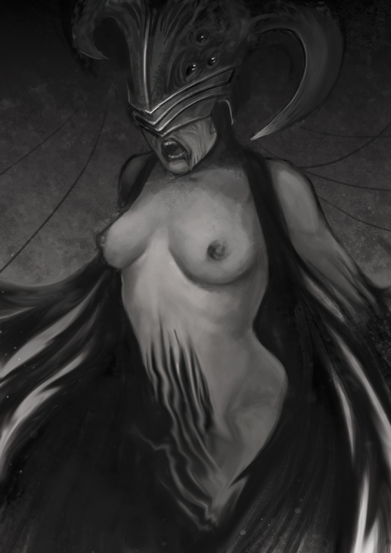 Speed Painting : Devouring Emotion by Pakoune