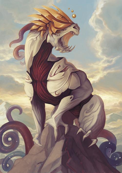 Light Dragon #1 by Pakoune