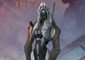 Mass Effect Series #1 Legion by Pakoune