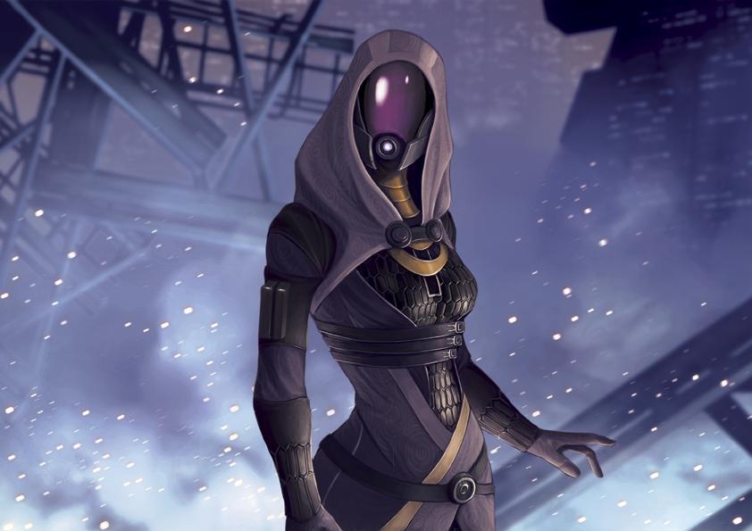 Mass Effect Series #3 Tali'Zorah by Pakoune
