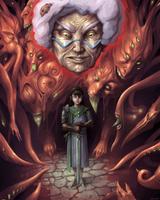 Dungeon Girl by RazydaArt