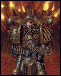 Chaos Space Marine : Iron Warrior [40k]