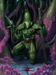 Stalking the prey ( Striking Scorpion)
