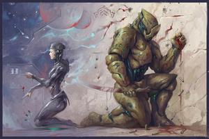 Warframe : Synergy (Codex Art Contest 3.0)