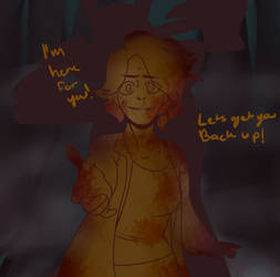 I've got you! by WitchyTricks