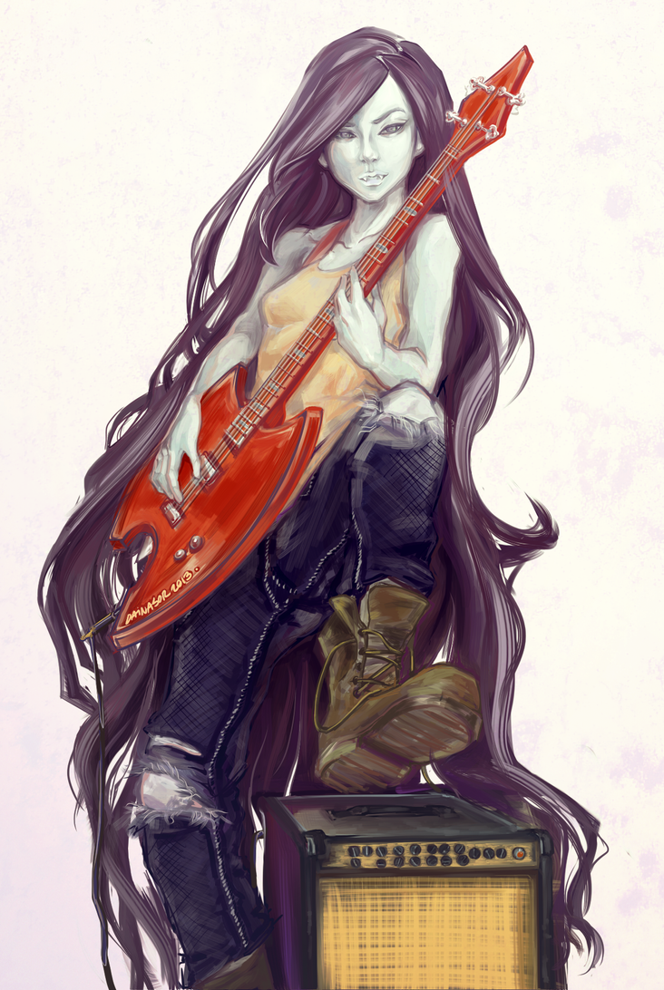 marceline is a badass by dainasor