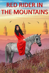 Red rider in the mountains by OlgaGodim