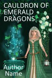 Cauldron of emerald dragons by OlgaGodim