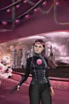 The pink watcher by OlgaGodim