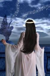 The moonless night by OlgaGodim