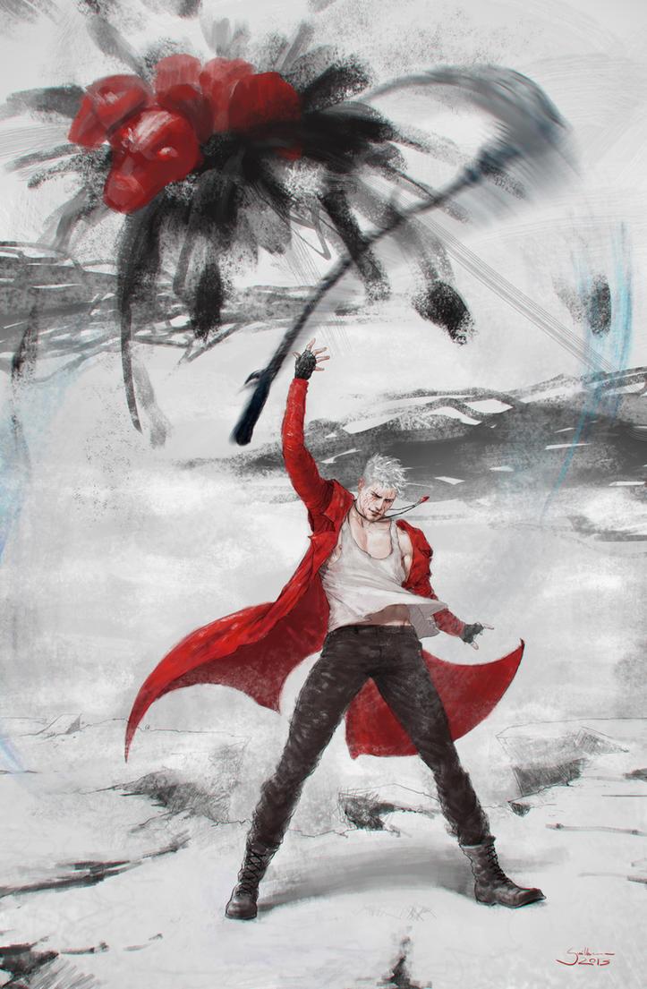 Dante - Devil Trigger by Guiper