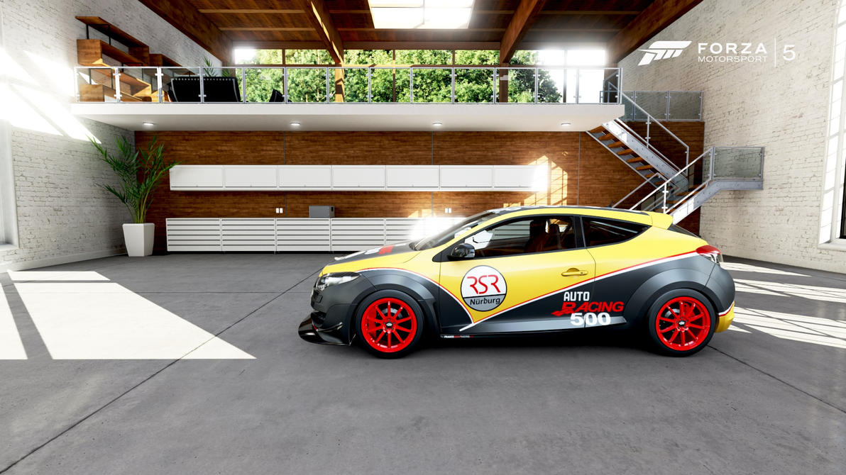 renault megane rsr500 39 dijon auto racing 39 01 by venongt on deviantart. Black Bedroom Furniture Sets. Home Design Ideas