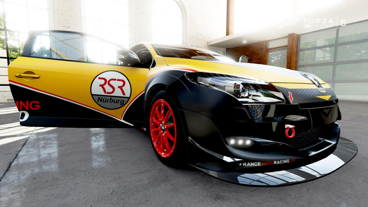 renault megane rsr500 39 dijon auto racing 39 05 by venongt on deviantart. Black Bedroom Furniture Sets. Home Design Ideas