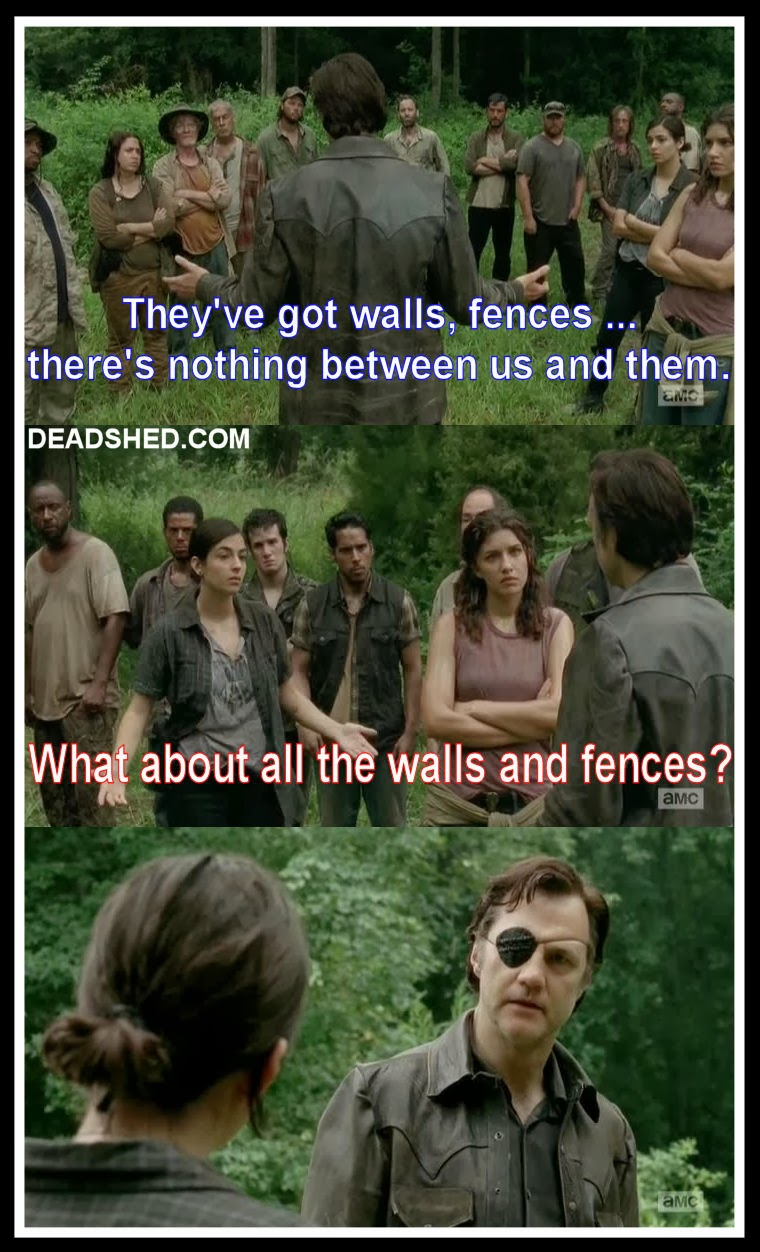 Walking dead meme governor