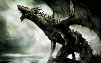 Dragon wallpaper by Datfoxthou