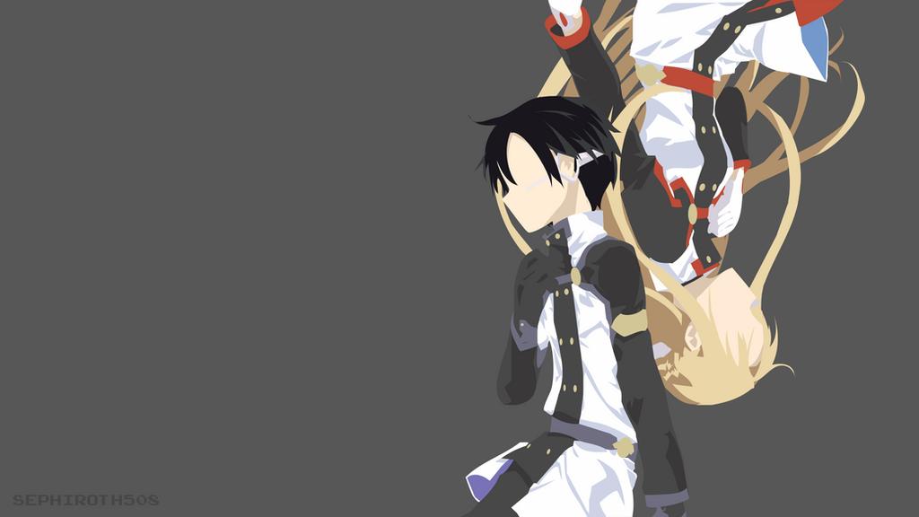 Kirito asuna sword art online ordinal scale by for Minimal art online