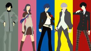 Shin Megami Tensei: Persona | Minimalist