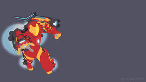 Invincible Iron Man (Mk-51) | Vector