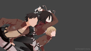 Shingeki no Kyojin (Attack on Titan) | Minimalist by Sephiroth508